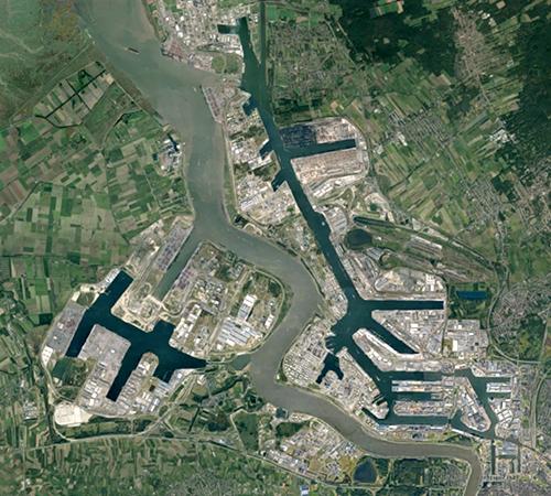 Port d'Anvers Belgique