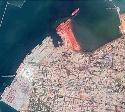 Port Conakry Guinee