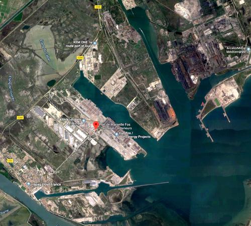 Port de Marseille France