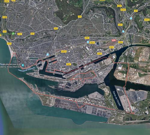 Port du Havre France